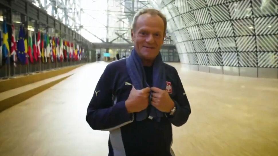 Pożegnanie z Tuskiem na pierwszym miejscu. Najciekawsze wideo tygodnia w tvn24.pl