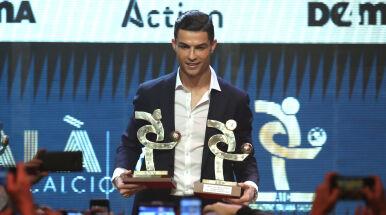 Czekał w samochodzie, aż dostanie nagrodę. Kontrowersje wokół Ronaldo