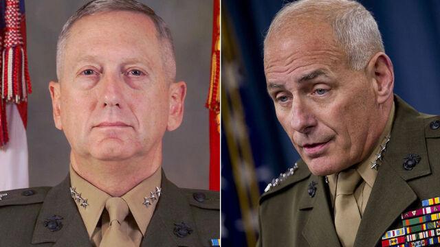 Sekretarze obrony i bezpieczeństwa narodowego USA zaprzysiężeni