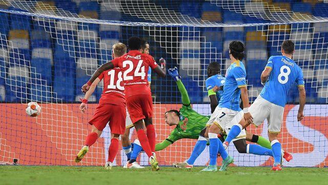Gol w 13. sekundzie, później katastrofa Napoli. Spartak wraca z tarczą
