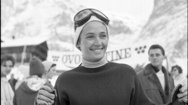 Zmarła legendarna alpejka. Jako pierwsza kobieta w historii złożyła ślubowanie olimpijskie