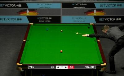 Craigie pokonał Yana Bingtao w 1. rundzie kwalifikacji do German Masters