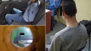 Zatrzymali trzech nastolatków podejrzanych o zniszczenie samochodów