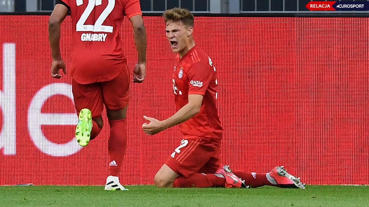 Genialny gol w hicie Bundesligi. Bayern na prowadzeniu