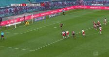 Gol Piątka w meczu RB Lipsk - Hertha w 28. kolejce Bundesligi