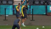 Trening Ukrainy przed meczem ze Szwecją w 1/8 finału Euro 2020