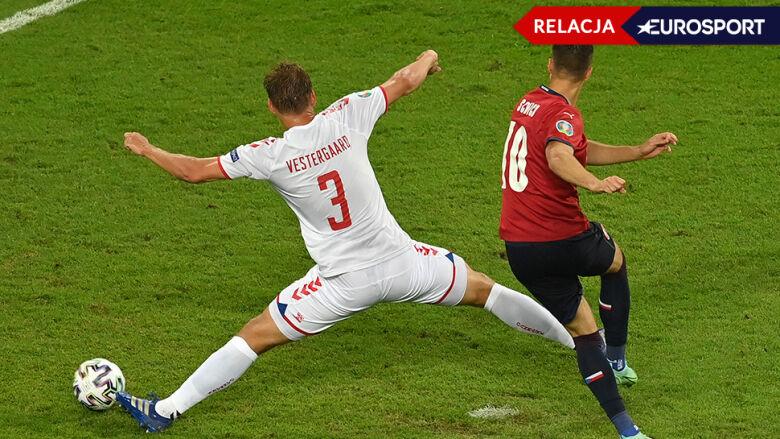 Czechy - Dania w ćwierćfinale Euro 2020 [RELACJA]