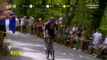 Atak Carapaza na 7. etapie Tour de France
