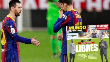 Barcelona żegna piłkarzy,