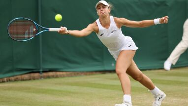 Piękna walka, stracone szanse. Linette odpadła z Wimbledonu