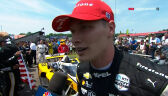 Newgarden po wygraniu wyścigu Indy 200 na torze Mid-Ohio