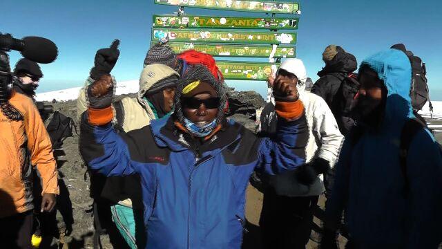 Niezwykła wyprawa na szczyt Kilimandżaro