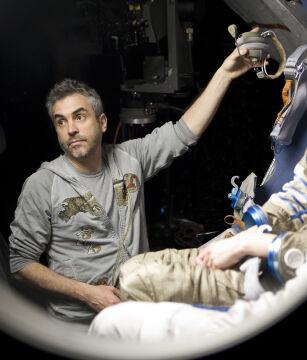 """Nominacja w kategorii """"Najlepszy reżyser"""": Alfonso Cuaron, """"Grawitacja"""""""