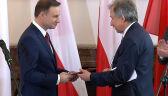 Andrzej Duda odebrał akt wyboru na prezydenta