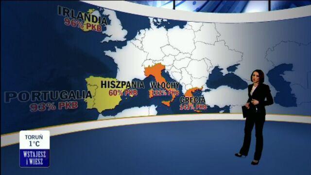 Włoski problem z długiem/TVN24