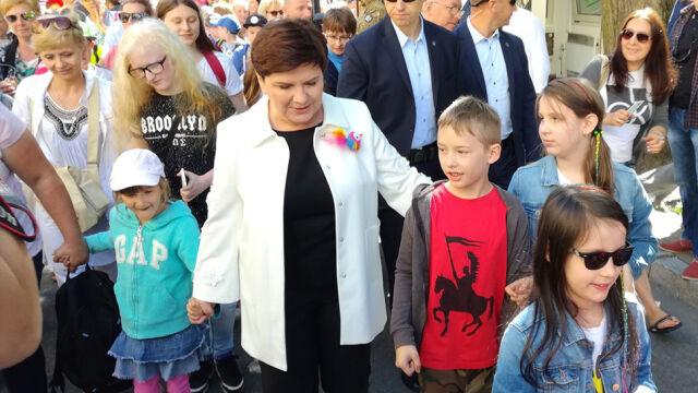 """Dzieci z wizytą w Kancelarii Premiera. """"Najważniejszy jest uśmiech dziecka"""""""