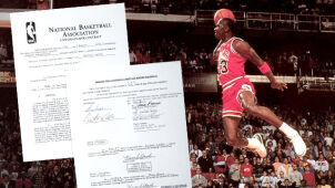 Gratka dla fanów Jordana. Najdroższy kontrakt w historii pod młotek