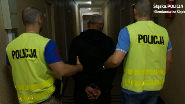 Policjant wypatrzył na ulicy podejrzanego o morderstwo. Marek G. zatrzymany