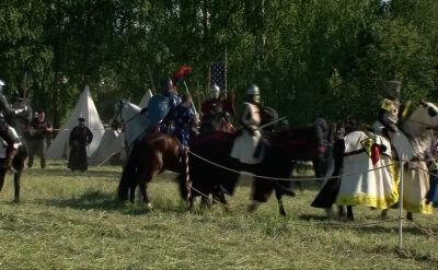 Walki rycerskie na przedmieściach Mińska
