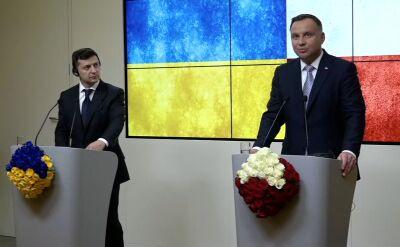 Duda: Polska nieustannie wspiera proeuropejskie i euroatlantyckie aspiracje Ukrainy