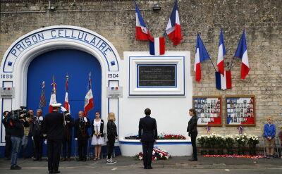 Macron uczcił rocznicę lądowania aliantów w Normandii