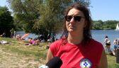 Wiceprezes krakowskiego WOPR o bezpieczeństwie nad wodą