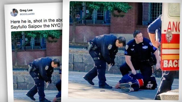 Wybiegł ze szkoły, strzelił do zamachowca, został okrzyknięty bohaterem