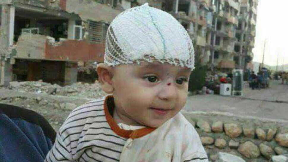 Trzy dni po wielkim trzęsieniu ziemi z gruzowiska wyciągnięto dziecko