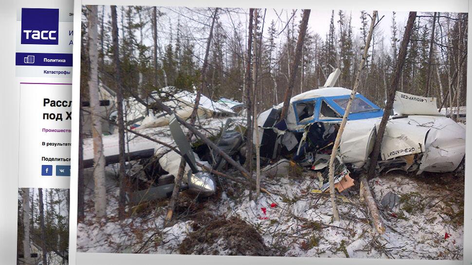 Katastrofa samolotu w Rosji. Przeżyła tylko 4-letnia dziewczynka