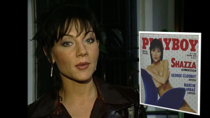 Archiwum Faktów (2000): Shazza w rozbieranej sesji dla Playboya