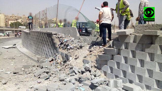Do wybuchu doszło w Gizie