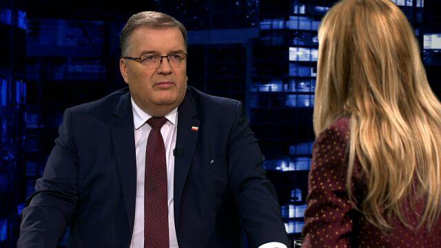 """Andrzej Dera w """"Kropce nad i"""""""