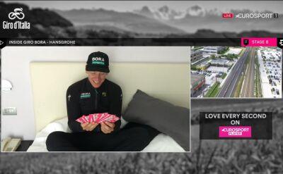 Popularne naklejki trafiły na Giro. Kogo wylosował Ackermann?