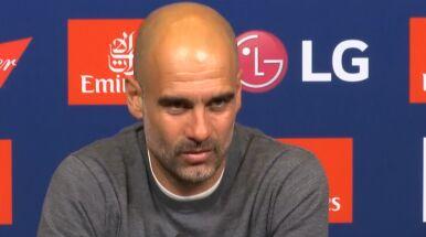 Guardiola wściekły na pytanie o pieniądze.