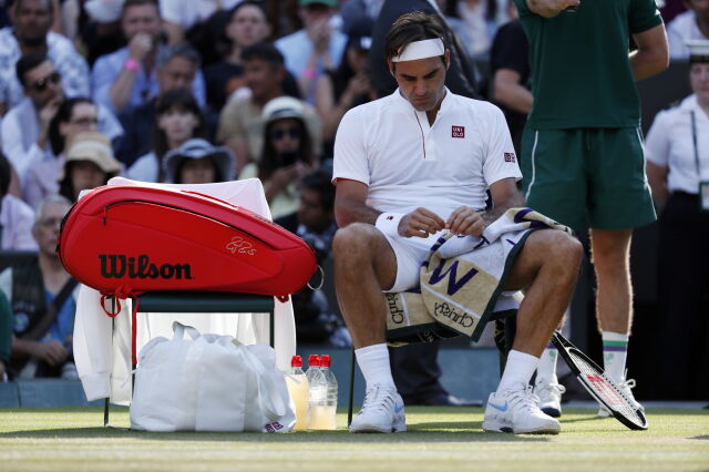 Wimbledon bez Federera. Poległ po morderczej walce