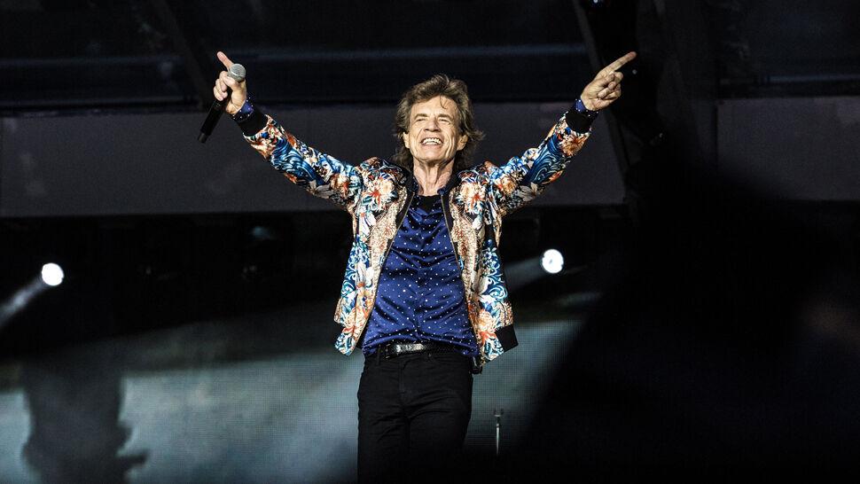 Mick Jagger na koncercie w Warszawie: jestem za stary, by być sędzią. Wałęsa dziękuje