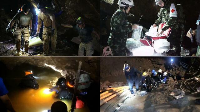 Niepublikowane dotąd nagranie z akcji w jaskini