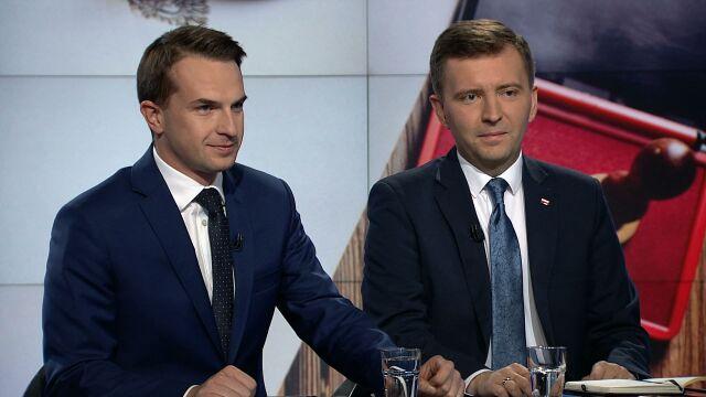 """Adam Szłapka i Łukasz Schreiber w """"Faktach po Faktach"""""""