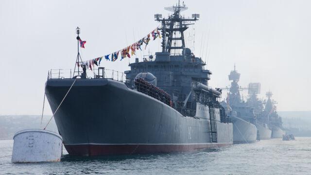 Rosyjska flota na Morzu Azowskim. Mogherini: niepokojąca militaryzacja akwenu