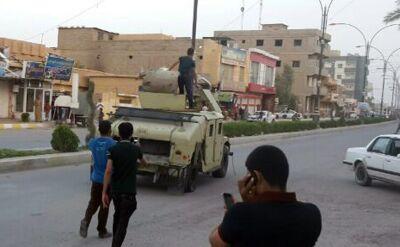 Rebelianci coraz bliżej stolicy. W Bagdadzie chaos i strach
