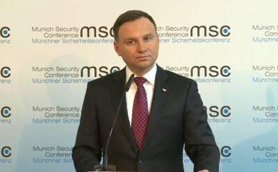 Prezydent Duda: Rosja jest bezlitosna. NATO musi być twarde