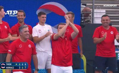 Zwycięstwa Hurkacza i Żuka, Polska lepsza od Austrii w ATP Cup