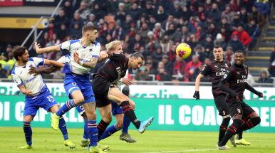 Ibrahimović wszedł za Piątka. Nawet on nie zbawił Milanu