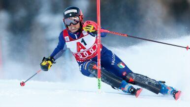 Trzecia alpejka straciła do triumfatorki tylko 0,01 s