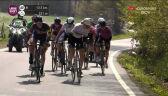 Mocne tempo w czołówce na 13 km przed metą Liege-Bastogne-Liege kobiet