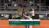 Linette przegrała z Fernandez w 1. rundzie Roland Garros
