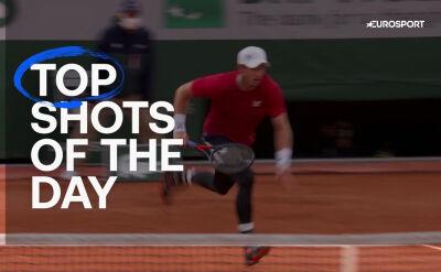 Najlepsze zagrania 1. dnia Roland Garros