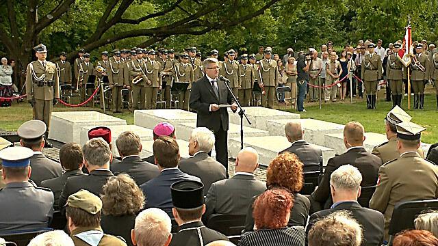 Prezydent na obchodach 70. rocznicy zbrodni wołyńskiej