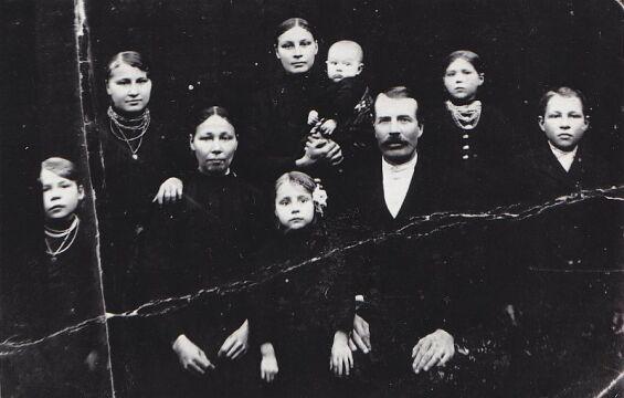 """Rodzina Szwedów (przezwisko """"Dziki"""") z Woli Ostrowieckiej"""