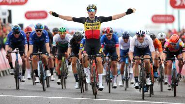 Triumf wywalczony na ostatnich metrach. Van Aert zwycięzcą Tour of Britain